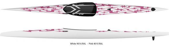 K1 Pink-white Bolts